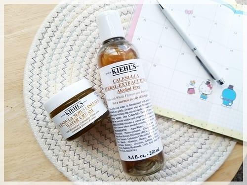 為肌膚消暑清熱氣。嘆一口肌膚涼茶 ♥ Kiehl's金盞花系列
