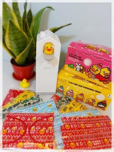 最實用又窩心的聖誕禮物 ♥ B.Duck「聖誕限定」防疫產品