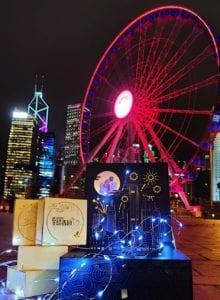 紹香園 x Biggerfit►香港立體夜景發光禮盒【燕窩柚子月餅】