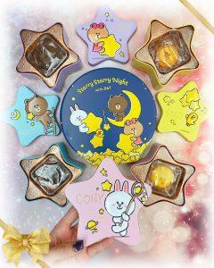 入手心水月餅 ♥ 珍惜每段小團「緣」►奇華x LINE FRIENDS奶黃月餅禮盒
