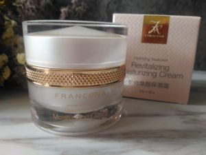 減少面部浮腫, 為肌膚補水儲水 - Francena緊緻保濕面霜