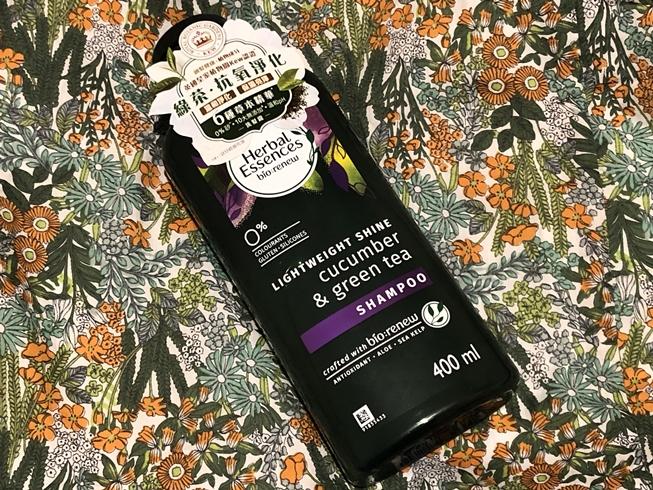 頭髮都要抗氧: Herbal Essences全新綠茶青瓜洗髮露