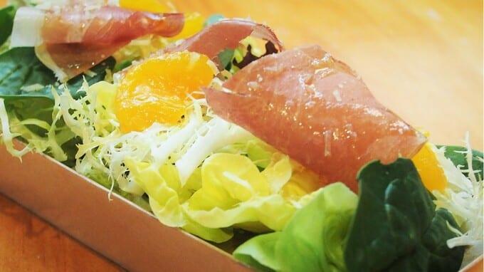 Parma Ham, Cherry Tomato & Orange Salad