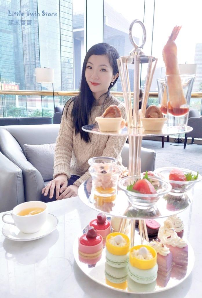 [親子去high tea]香港JW萬豪酒店
