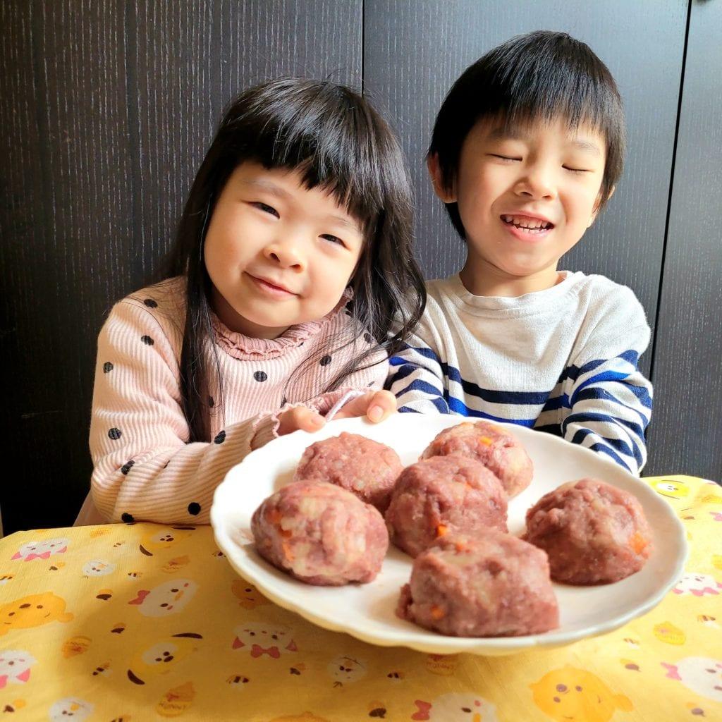 [ 親子廚房] 自家製 牛肉薯仔餅 ~改善偏食