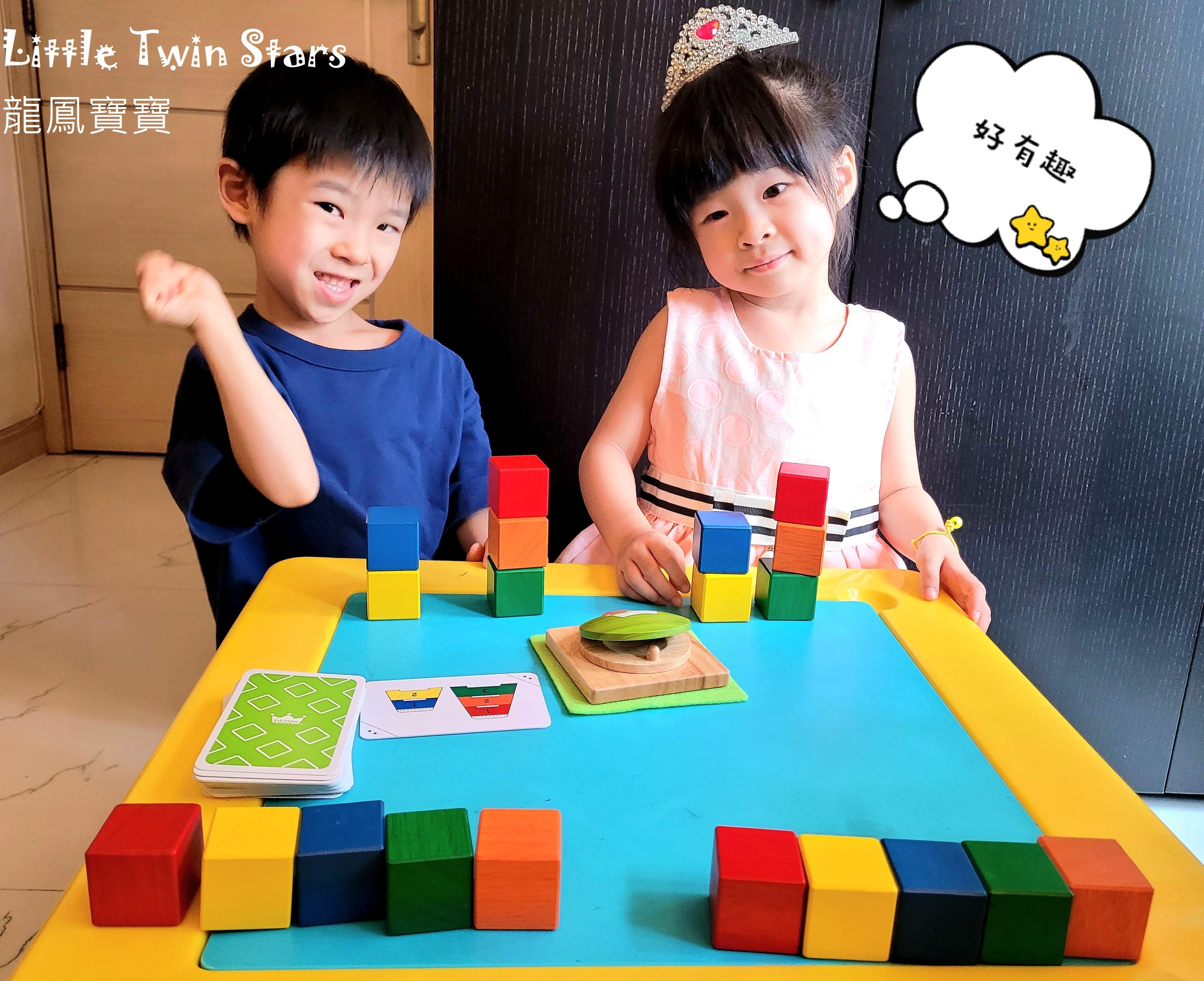 日本百年知育玩具品牌—Ed.Inter五色積木配配樂